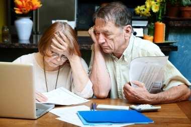 stressed seniors
